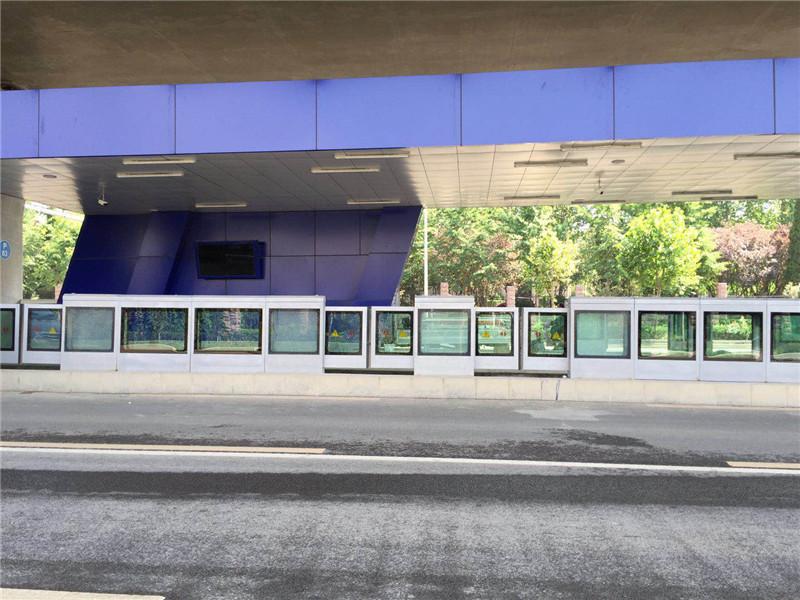 BRT安全门实景图